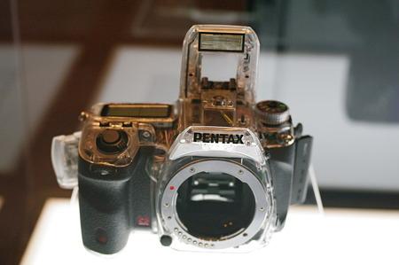 PENTAX K-5 スケルトンモデル