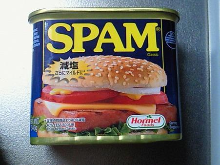 スパム買ってきたよ。