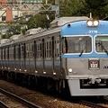 新代田を通過する3000系急行