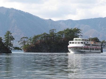 十和田湖にて・2