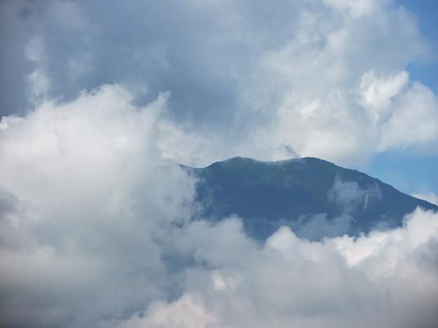 Photos: 雲の中から