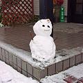 Photos: 雪だるま。