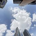 新宿の中心で、空を撮る。