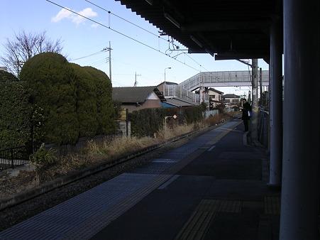 笠幡駅ホーム2