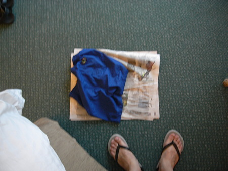 水着の乾かし方