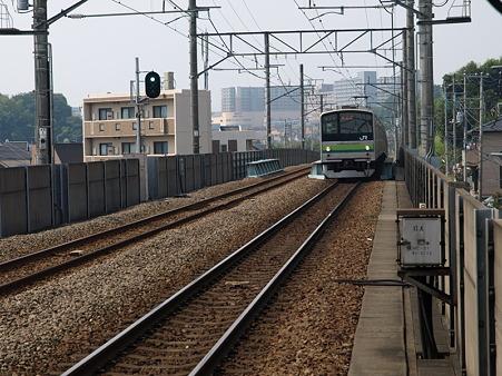 205系横浜線H4編成(片倉駅)
