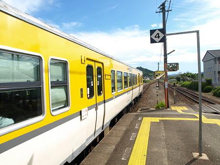 キハ47山口線(宮野駅)2