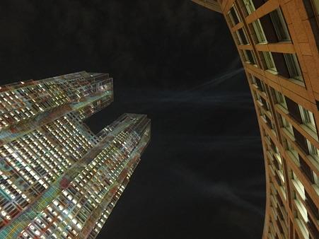 都庁 デジタル暖簾ライトアップ