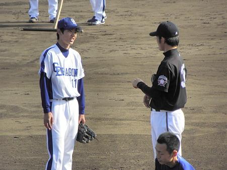 044 岡田くんは木下にイロイロ教えていました