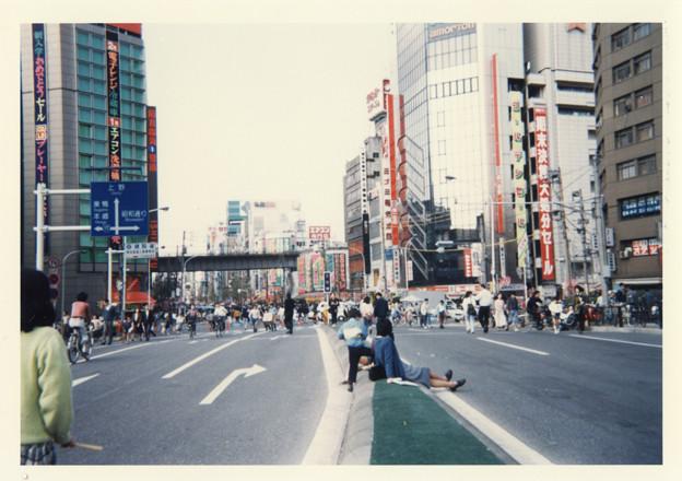 昭和63年4月の秋葉原 歩行者天国   IMG_0036