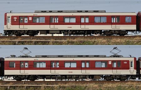 近鉄1233系1248F(VC48)海側側面 2010.03.14