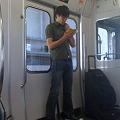 Photos: 移動の電車の中でテネシー