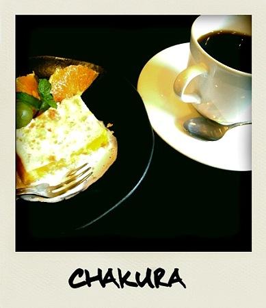 cafe chakura