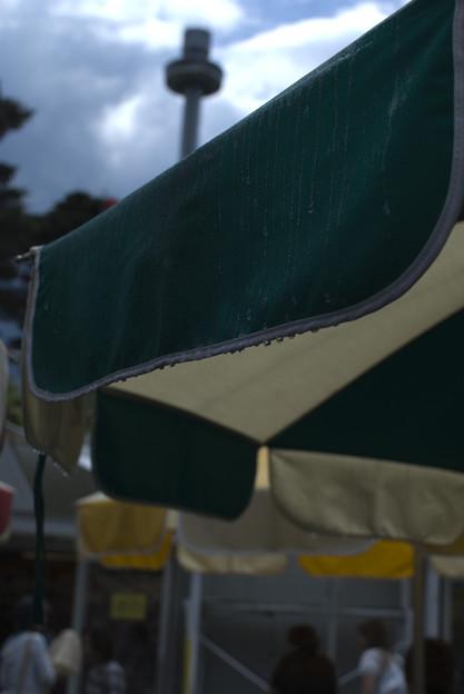 写真: ドシャ降り
