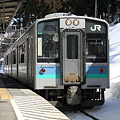 大糸線 南小谷駅 E127系