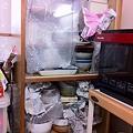Photos: 食器破損防止策のつもり。。