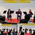 写真: Ensemble Bevitore at まちなか交流ステージ