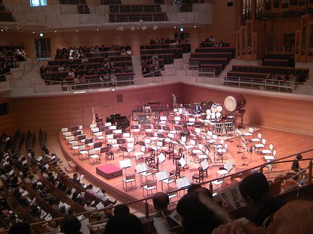 東京交響楽団第59回新潟定期セッティング