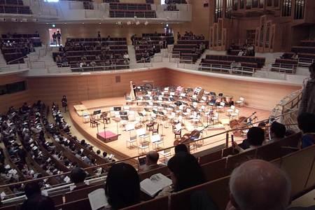 東京交響楽団第65回新潟定期のセッティング