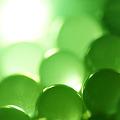 Photos: A green precious stone.