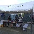 写真: 避難所の湯