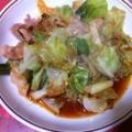 写真: 20101129夕食 麻婆キャベツ