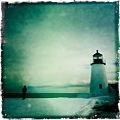 Photos: A Man and the Lighthouse