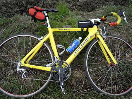 仲間の自転車です