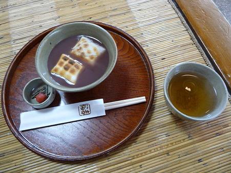 100330-お伊勢さん 赤福ぜんざい (1)