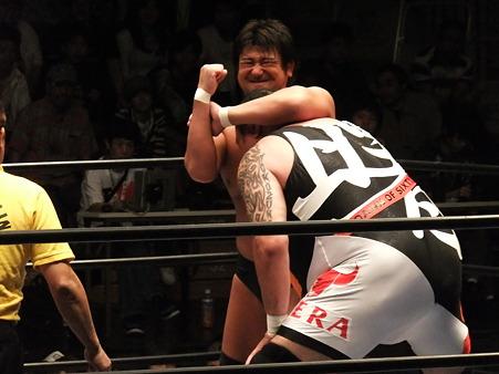 全日本プロレス 後楽園ホール 20110712 (8)