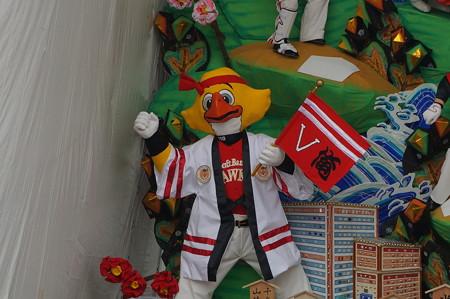 10 2014年 博多祇園山笠 福岡ドーム 飾り山笠 常勝玄界鷹 (8)