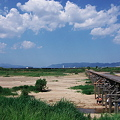 Photos: 流れ橋(上津屋橋)