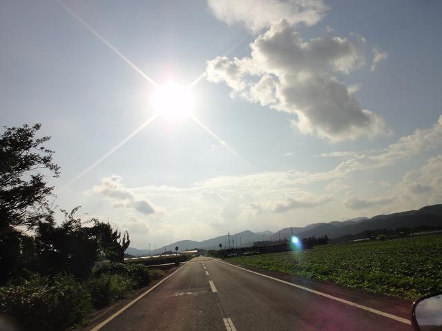 今日もほぼいい天気をありがとう
