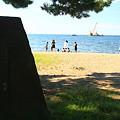 合浦公園海水浴場ー3