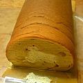 写真: 和三盆のロールケーキ