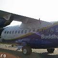 Buddha Airの飛行機