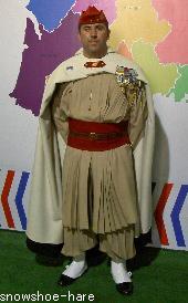フランスの軍人さん?