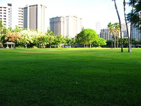 2010ハワイ。朝のさんぽコース。