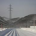 Photos: 防雪柵