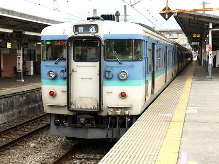 115系中央本線(大月駅)7