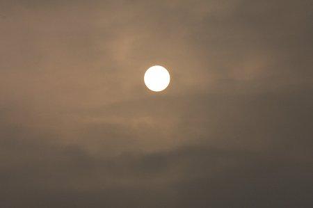 2010.09.20 和泉川 AM6:30の太陽