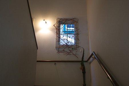 2010.12.08 山手 山手234番館 世界のクリスマス2010 ポーランド 階段に窓
