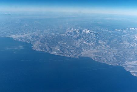 2011.01.30 モスクワ→成田 SU-0575 ロシアの白い大地にお別れ
