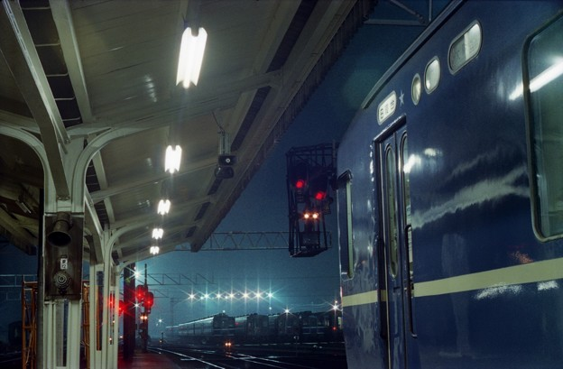 AS19-2s-だいせん5号、福知山駅に停車中