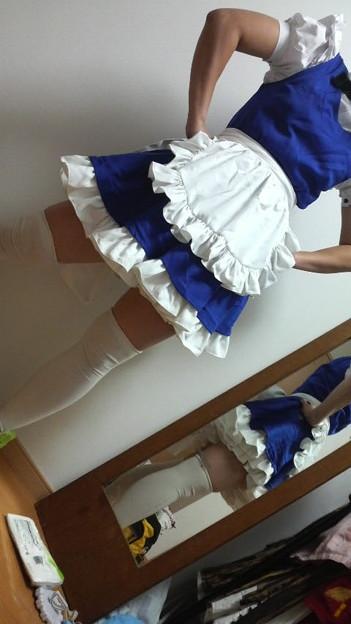写真: この足の太さと肉付きは踊ってみたとか上げたら男と判断されそうだな...