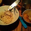 Photos: 中川ログハウスでの夕食