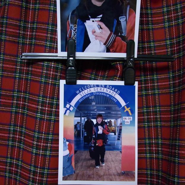 【29】タリンク・シリヤライン乗船 記念写真を購入 [2005]