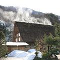 写真: 100316-23白川郷・水蒸気