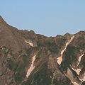 Photos: 100722-20穂高連峰と槍ヶ岳(8/30)