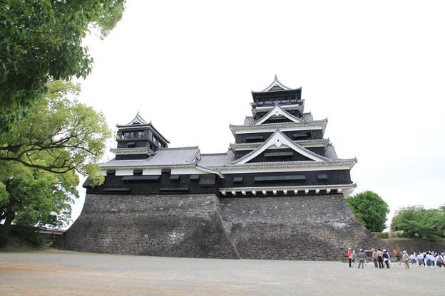 Photos: 100518-25九州ロングツーリング・熊本城・大天守と小天守